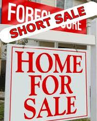 Short Sale Home for sale sign inArizona