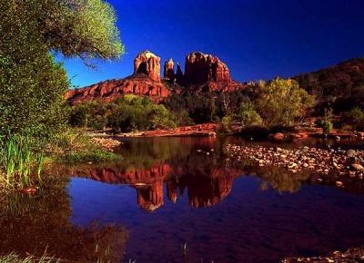 "Welcome to Arizona! Click the 'Oak Creek' for beautiful travel videos of the ""Grand Canyon State"". See many different samples of the beauty of Arizona."